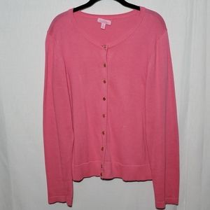 Lilly Pulitzer Cotton Button Up Cardigan